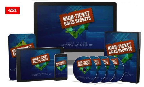 High Ticket Sales Secret: Online Sales Success – EBook